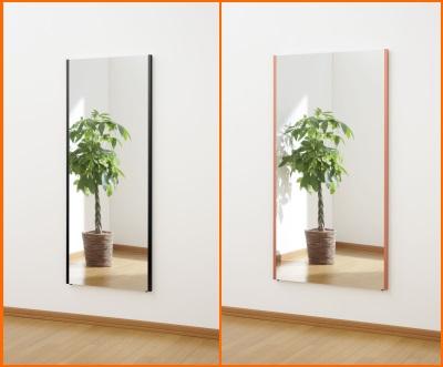 60cmと80cmの鏡の比較