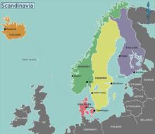 北欧の国々